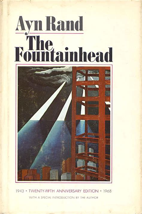 quot the fountainhead quot by ayn rand s archive