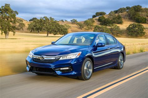2017 Honda Accord Hybrid Touring Review By Carey Russ +video