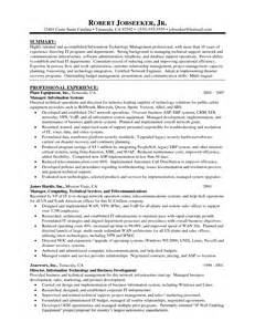 best it infrastructure manager resume resume template