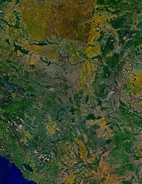 Ģeogrāfiskā karte - Melnkalne - 2,238 x 2,906 Pikselis - 5 ...