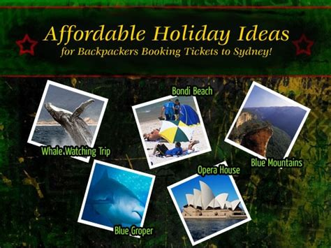 Affordable Holidays by Affordable Ideas For Backpackers Booking Tickets
