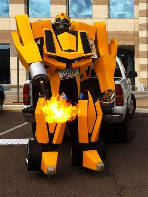 transformers costume  working flamethrower neatorama