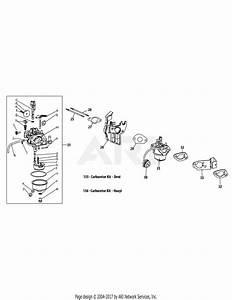 Troy Bilt 31bm63p3711 Storm 2620  2014  Parts Diagram For