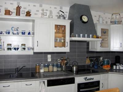 deco cuisine gris et blanc decoration cuisine gris et blanc