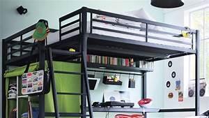 Lit Mezzanine Ado : d coration chambre avec lit mezzanine ~ Teatrodelosmanantiales.com Idées de Décoration
