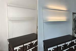 IKEA Hack Mosslanda Bilderleiste Mit Indirektem Licht