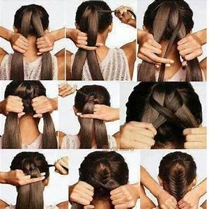Easy fishtail braid tutorial | HAIR | Pinterest