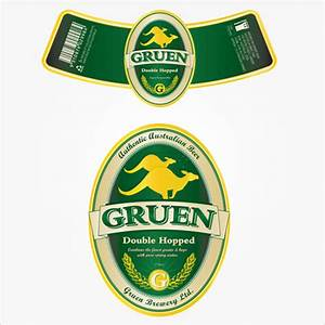 beer label design the design process of creating a beer With beer label stickers