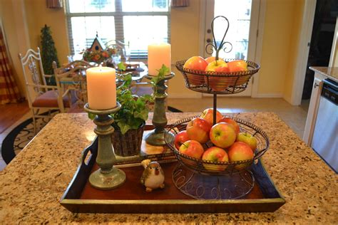 Kitchen Centerpiece Ideas - kristen 39 s creations kitchen island vignette