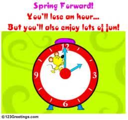 spring daylight saving time begins ecards greeting cards