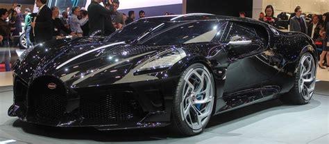 Bugatti's one-off La Voiture Noire is the world's most expensive new car | La voiture noire ...