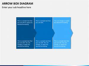 Arrow Box Diagram Powerpoint Template
