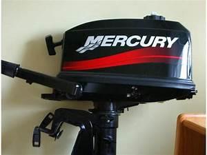 Motor Mercury De 4 Hp De Segunda Mano 67666