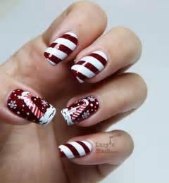 Christmas candy nail art best design