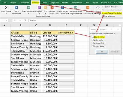 Excel Namen Lassen Vergeben Automatisch Abb Siehe