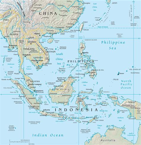 southeast asia map map  south east asia southeast
