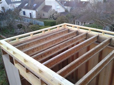 charpente bois toit plat mzaol
