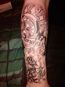 timeless lower arm tattoo