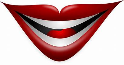 Clipart Mouth Smiling Lips Joker Clip Library