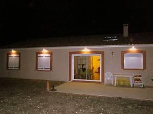 Spot Encastrable Exterieur Sous Toiture : eclairage ext rieur 1 notre projet de future maison ~ Melissatoandfro.com Idées de Décoration
