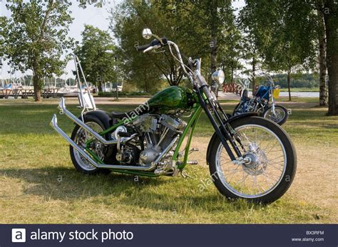 Custom Harley Davidson Chopper Choppers Bike Motor Cycle
