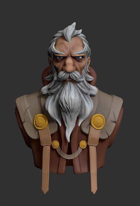 Wizard wizard 3D model   CGTrader