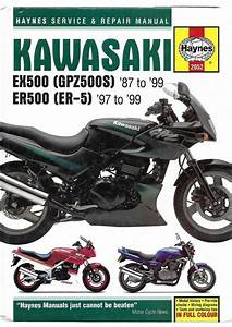 Haynes Kawasaki Ex500 Gpz500s Er500a E Ninja 498cr5c