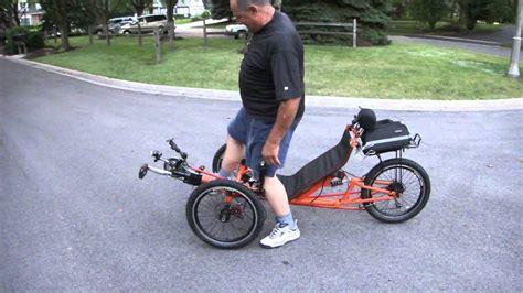 A Full Tilting 3-wheeled Cargo Bike