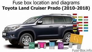 Fuse Box Location And Diagrams  Toyota Land Cruiser Prado 150  2010-2018