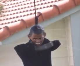 California man visited by Secret Service after he hangs an