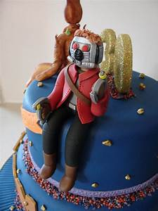 Guardians Of The Galaxy Fondant Cake - CakeCentral com