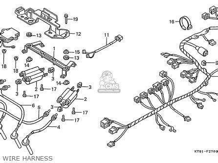 honda cbr400r 1986 g domestic nc23 100 parts list partsmanual partsfiche