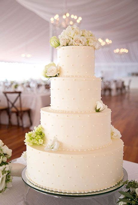 simple white wedding cakes ideas    wedding