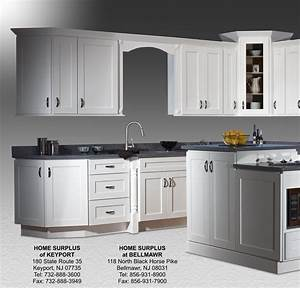Shaker White Cabinets: Home Surplus