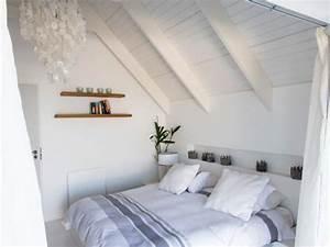 Zimmer Mit Schrägen : dachschr ge gestalten schlafzimmer ~ Lizthompson.info Haus und Dekorationen