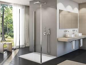 Bad Design Heizung : walk in dusche mit seitenwand duschabtrennung dusche duschw nde duschwand mit seitenwand ~ Michelbontemps.com Haus und Dekorationen