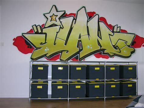 graff chambre zurich prenom graff graffiti chambre enfant adolescent mur