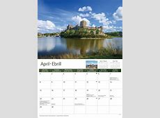 South Wales A4 Calendar 2019 Calendar Club UK