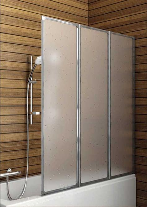 Duschwand Für Badewannen by Badewanne Duschwand Kunststoff 3 Telig Mit Matt Chromprofile
