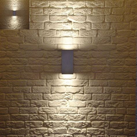 outdoor up and down light fixtures big theo up down outdoor wall light modern outdoor