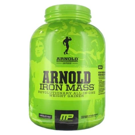 compare buy arnold schwarzenegger series iron mass chocolate lb