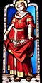 St Elizabeth of Hungary   St Elizabeth of Hungary with her ...