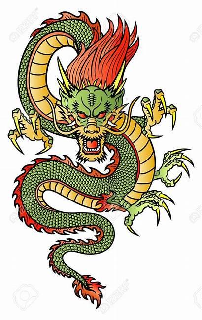 Dragon Illustration Chinese Tattoo Tattoos Drawing Shirts