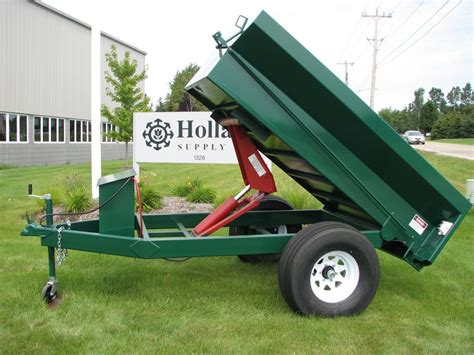 holland heavy duty hydraulic dump trailer holland supply