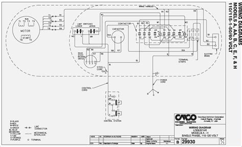 ehoistul electric hoist wiring diagram wiring diagram dayton hoist wiring diagram vivresaville com
