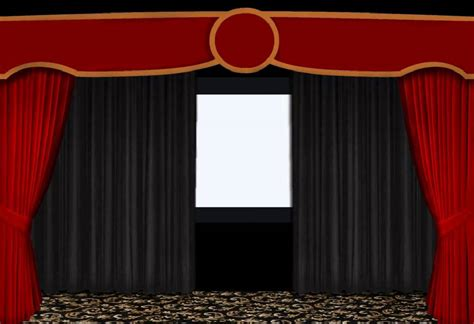 Remote Drapes by Saaria Home Theater Aspect Ratio Curtain Setup