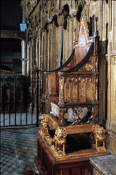 the coronation chair of england aka king edward s chair