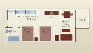 great floor plans no one left out great wolf lodge family suite