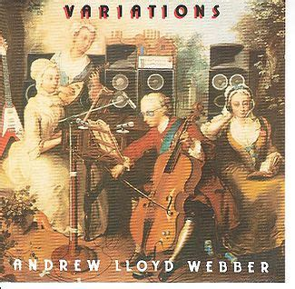 variations andrew lloyd webber album wikipedia