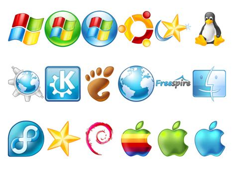 Computer Operating System Icons